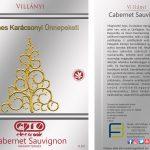 Cabarnet Sauvignon elő- és hátcímke